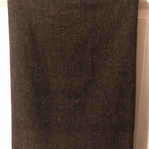 Kate Hill Skirts - Kate Hill Dark Brown Tweed straight skirt